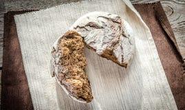 黑色黑麦面包 免版税库存照片