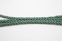 绿色绳索 免版税库存照片
