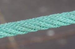 绿色绳索 库存图片