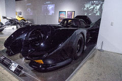 黑色1989年Batmobile 库存照片