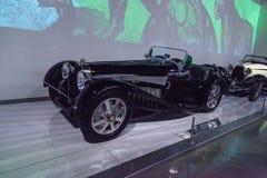 黑色1931年Bugatti类型54 库存图片
