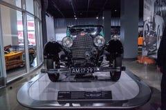 绿色1931年Bugatti类型50 S 免版税库存照片