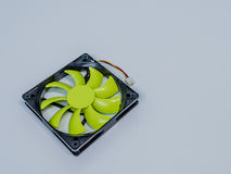 绿色120mm计算机盒爱好者 库存图片