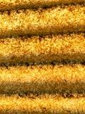 黄色abtract背景 免版税库存图片