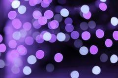紫色bokeh背景 库存图片