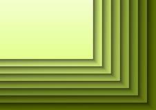 绿色Layeres 库存照片