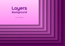 紫色Layeres 库存照片