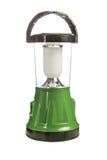 绿色LED手电 免版税库存图片