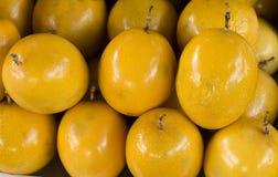 黄色Maracuja Passionfruit 免版税库存照片