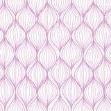 紫色ogee镶边无缝的样式背景 皇族释放例证