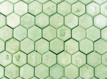 绿色pedastrian走道特写镜头 库存照片