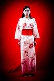 艺妓日本年轻人 免版税库存照片