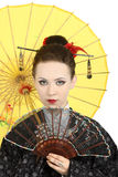 艺妓日语 库存照片
