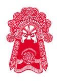 艺术中国人papercut 免版税库存照片