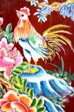 艺术中国寺庙墙壁 免版税库存照片