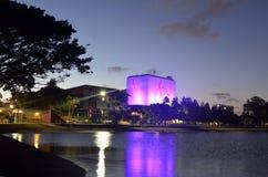 艺术中心英属黄金海岸澳大利亚 免版税库存照片
