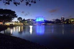 艺术中心英属黄金海岸澳大利亚 免版税图库摄影