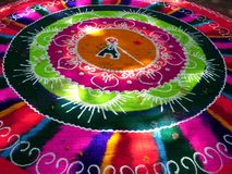 艺术五颜六色的创造性的街道 免版税库存照片