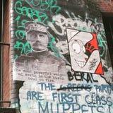 艺术五颜六色的包括的街道画街道墙壁 库存图片
