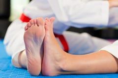 艺术体操军事体育运动培训 免版税库存照片