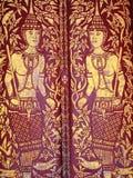 艺术佛教徒 免版税库存图片