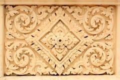 艺术佛教教会泰国墙壁 库存照片