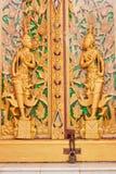 艺术佛教门 免版税库存照片