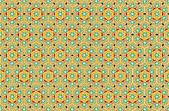 艺术几何伊斯兰向量 免版税库存照片