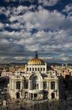 艺术博物馆在墨西哥城或帕拉西奥台尔Belles阿特斯的 库存照片