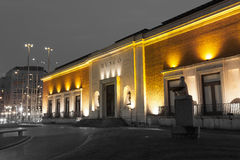 艺术博物馆,毕尔巴鄂 免版税图库摄影