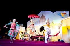艺术叫跳舞khon泰国 图库摄影