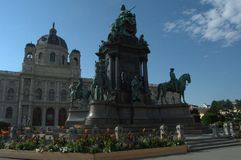 艺术史博物馆维也纳 库存图片