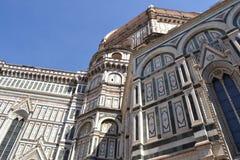 艺术史和文化在佛罗伦丁的教会-佛罗伦萨- Ital里 免版税图库摄影