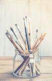 艺术和工艺工具 免版税库存图片