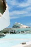 艺术和科学城市在巴伦西亚,西班牙 库存图片