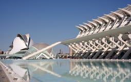 艺术和科学城市 免版税库存图片