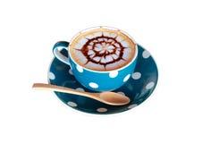 艺术咖啡杯孤立 图库摄影