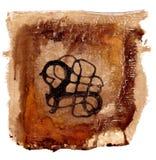 艺术品启发了斯堪的纳维亚样式 库存图片
