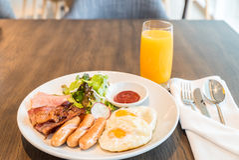 艺术品早餐编辑可能的梯度不分层堆积使用的集 免版税库存图片