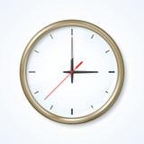 艺术品时钟详细高级职务向量墙壁 免版税库存图片