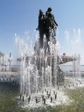 艺术喷泉 库存照片