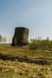 艺术在俄罗斯的卡卢加州地区的科列夫Lenivets村庄反对 免版税库存照片