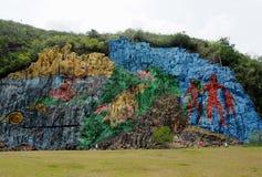 艺术在古巴 库存图片
