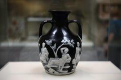艺术在大英博物馆中 图库摄影