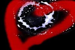 艺术在心脏 库存照片