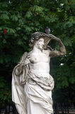 艺术在Tuileries庭院,巴黎,法国里 免版税库存图片