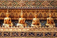 艺术在Wat Phra Si拉塔纳Satsadaram 免版税库存图片