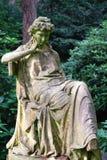 艺术坟墓 免版税库存照片