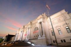 艺术城市大城市博物馆纽约 库存图片
