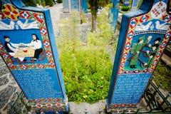 艺术墓地 免版税库存照片